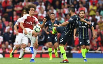Manchester City-Arsenal, tutte le quote