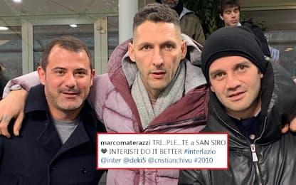 "Materazzi: ""Triplete a S.Siro"". Sfottò alla Juve?"