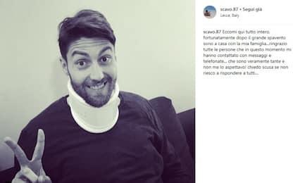 Lecce, Scavone torna a casa: il post su Instagram