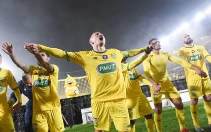 Nantes vince in Coppa: coro da brividi per Sala
