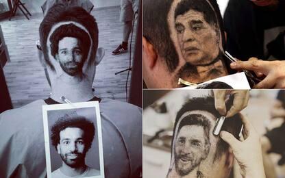 """Taglio """"alla Salah""""? C'è il barbiere dei campioni"""