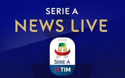 Serie A LIVE, tutte le news di oggi