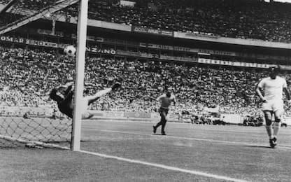 Morto Gordon Banks: sua parata del secolo su Pelé