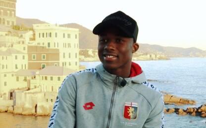 """Kouamé: """"Gioco come nei campetti del mio paese"""""""