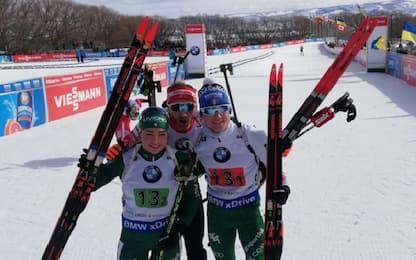 Biathlon, Wierer-Hofer: che trionfo in staffetta