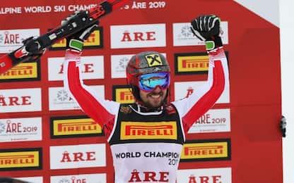 Mondiali, Hirscher oro in slalom su Matt e Schwarz