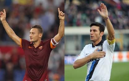 Hall of fame: entrano Totti, Allegri e Zanetti