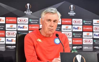 """Napoli, Ancelotti: """"Fino a oggi alla squadra do 7"""""""