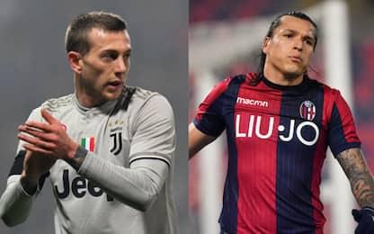 Bologna-Juventus, le probabili formazioni