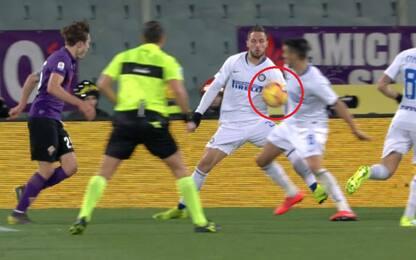 Fiorentina-Inter, tutte le scelte del Var: analisi