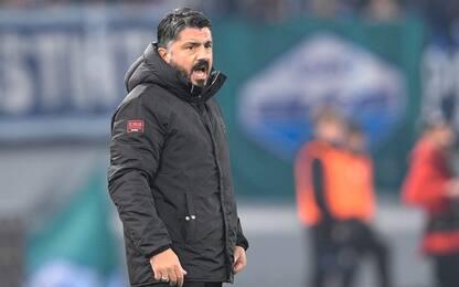 """Gattuso: """"Passo indietro, Piatek servito male"""""""