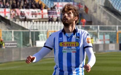 Pescara al 3° posto: 2-0 allo Spezia. Perugia ok