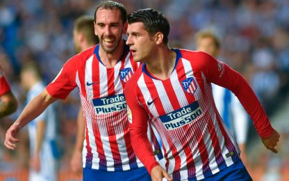 Morata doppietta, F. Luis in dubbio per la Juve