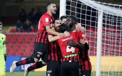 Il Foggia torna alla vittoria: 1-0 al Cosenza