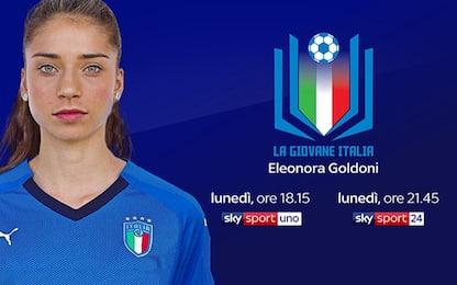 Eleonora Goldoni, dagli USA alla Nazionale