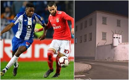 Tentano l'evasione durante Porto-Benfica: bloccati
