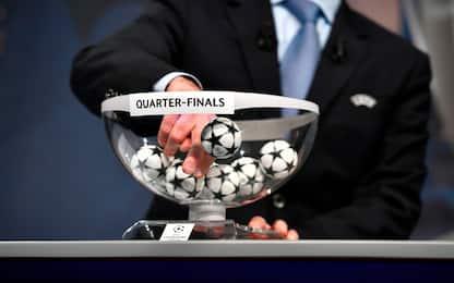 Champions, sorteggi unici per quarti e semifinali