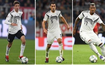 Germania, Löw 'taglia' Hummels, Boateng e Muller
