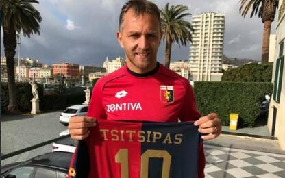 Tsitsipas tifa Genoa e Criscito gli regala la 10