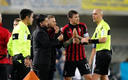 """Riccio: """"Gattuso-arbitro, tutto ok"""". Salta derby?"""
