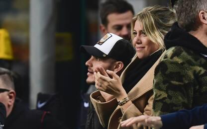 """Wanda: """"Lavoro per la pace, Icardi vuole l'Inter"""""""