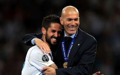 """Isco: """"Ritorno Zidane buona notizia, ama il Real"""""""