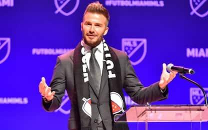 Beckham, due stadi nuovi per l'Inter Miami