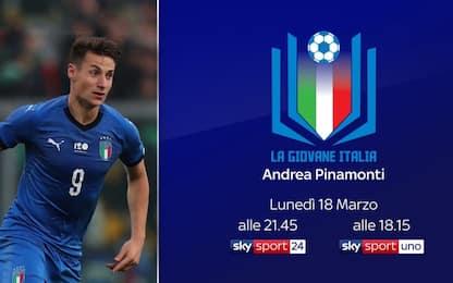 """Giovane Italia, Andrea Pinamonti mette la """"quinta"""""""