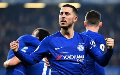 """Hazard: """"Champions? Alla fine vince sempre CR7"""""""