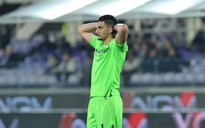 Strakosha perde l'aereo, Albania lo lascia a casa