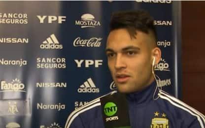 """Lautaro: """"Aspettiamo Mauro. Derby? Non ho dormito"""""""