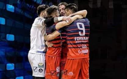 Calcio a 5, Final Eight: Feldi Eboli in semifinale