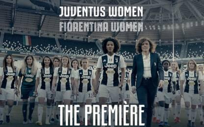 Juve-Fiorentina donne, Stadium tutto esaurito