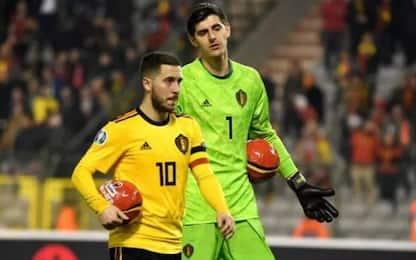 """Hazard scherza Courtois: """"Papera? Voleva imitarmi"""""""