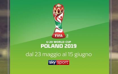 Anche i Mondiali Under 20 saranno su Sky!