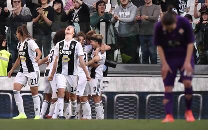 Pedersen-gol, festa Juve: Fiorentina battuta 1-0