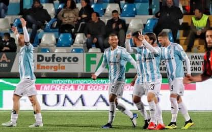 Serie C, recupero: Entella-Lucchese 1-1