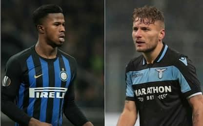 Probabili formazioni di Inter-Lazio