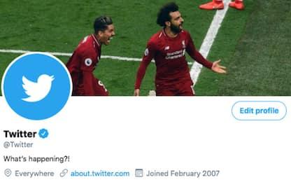 Twitter, l'account cambia foto: c'è il Liverpool!