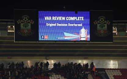FA Cup, rivoluzione Var: episodi sui maxi-schermi