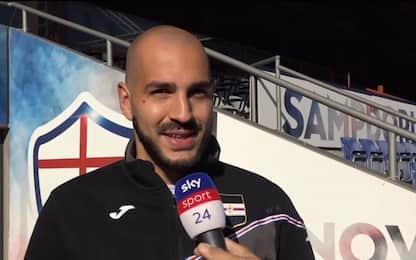 """Saponara: """"Futuro? Vorrei restare alla Sampdoria"""""""