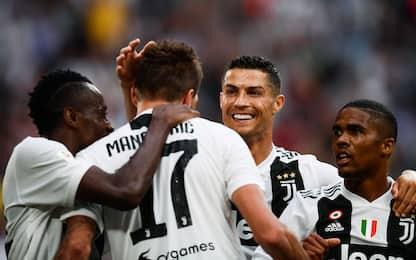Da Pirlo a Cristiano Ronaldo, 8 anni di colpi Juve