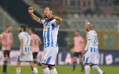 Impresa Pescara, Palermo ko: Lecce e Brescia a +4