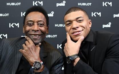 """Pelé: """"Paquetá come Altafini. Mbappé mi somiglia"""""""