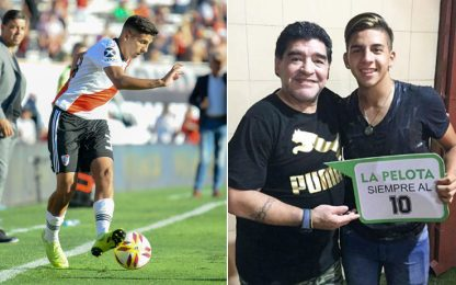 Nel segno di Maradona: pronipote in gol al debutto