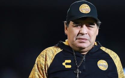 """Maradona minaccia l'addio: """"Arbitri contro di me"""""""