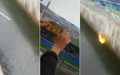 Pesce d'aprile al Mapei Stadium: il VIDEO virale