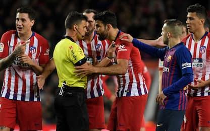 Diego Costa, che stangata! Otto giornate di stop