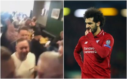 Salah, cori razzisti dai tifosi del Chelsea. VIDEO