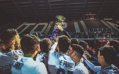 Primavera, la Fiorentina vince la Coppa Italia